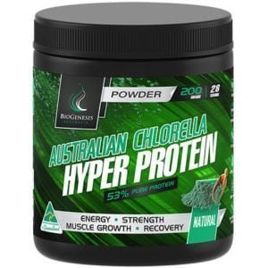 protein powder Biogenesis Australian Chlorella Hyper Protein Powder natural buy online at Yo Life