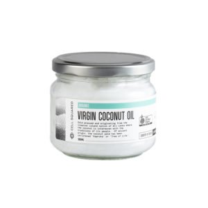 Organic Virgin Coconut Oil Cold Pressed 300ml