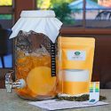 4L Deluxe Kombucha Tea Brewing Kit Organic Scoby!