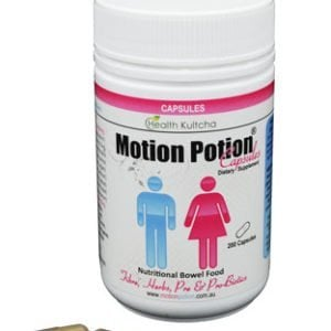 prebiotics and probiotics Motion Potion capsules Nutritional bowel health supplements buy online at Yo Life