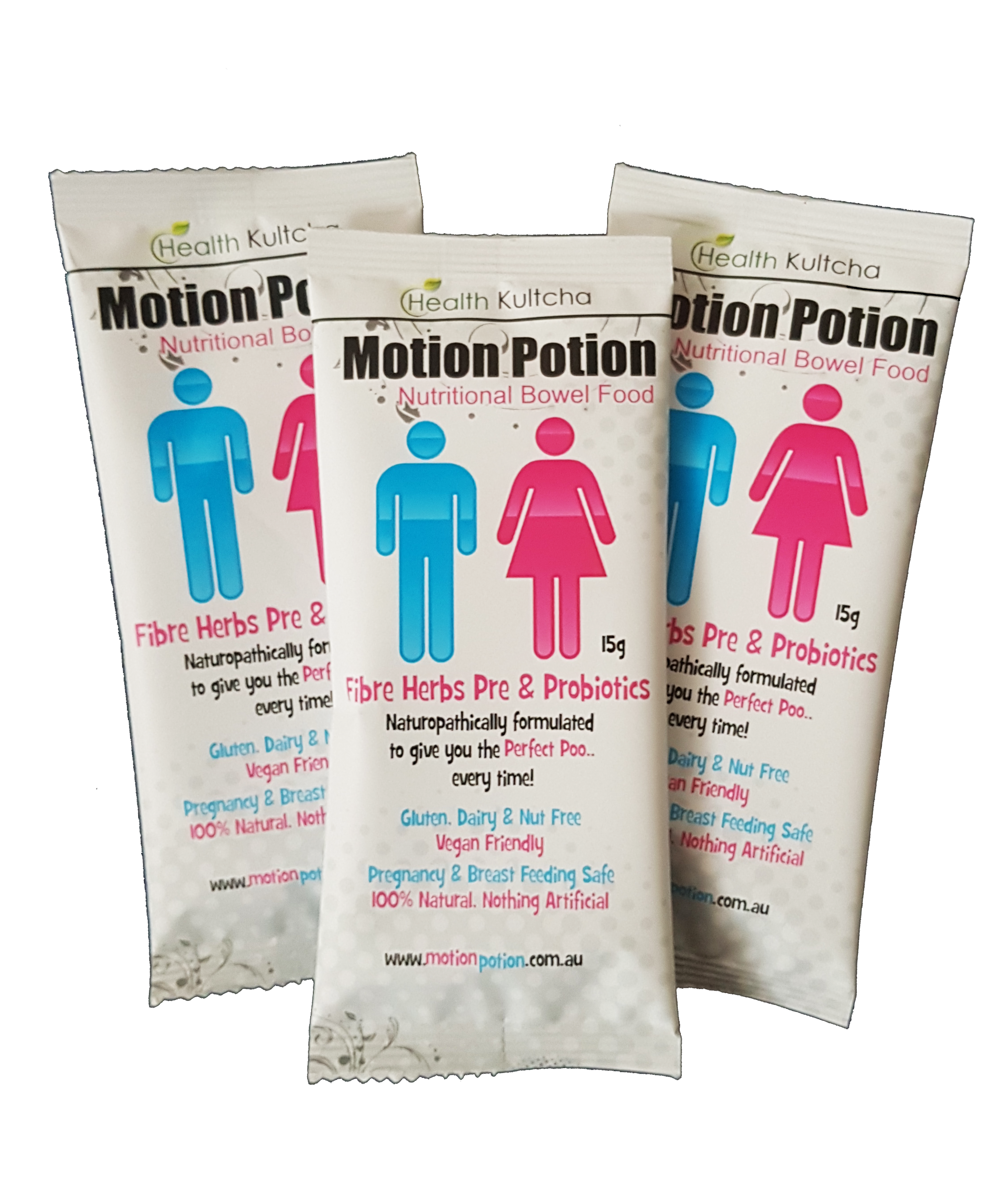prebiotics and probiotics Motion Potion Nutritional bowel health supplements buy online at Yo Life
