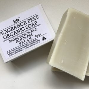 Fragrance Free Soap 80gm