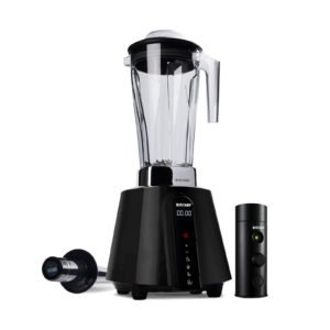 BioChef Living Food Vacuum Blender – Black