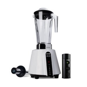 BioChef Living Food Vacuum Blender – White