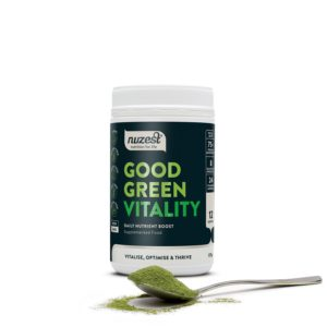 greens powder Nuzest Good Green vitality 120g daily nutrient boost buy online at Yo Life