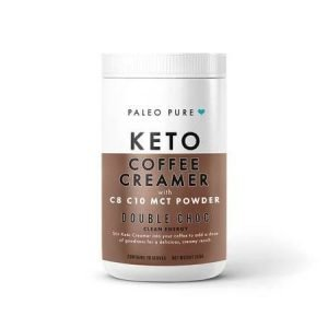 KETO COFFEE CREAMER (K, LCHF, P, GF, V) – Double Choc 250gm